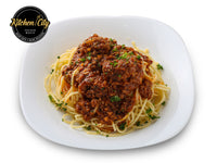 Bolognese Pasta Sauce with  Beef Meatballs