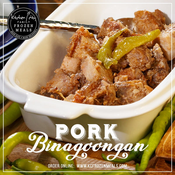 Pork Binagoongan