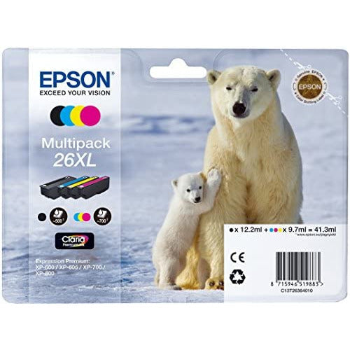 Epson 26XL polarbear Ink cartridges