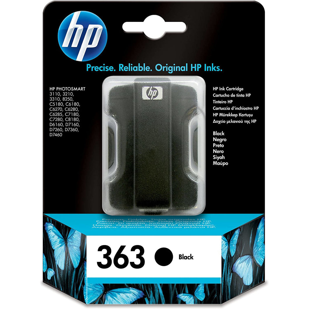 HP 363 Black and Colour ink Cartridge