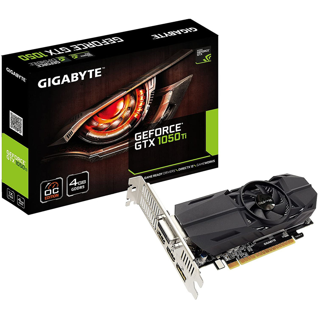 Gigabyte Nvidia GeForce GTX1050TI 4GB GDDR5 PCI-E Low Profile Graphics Card