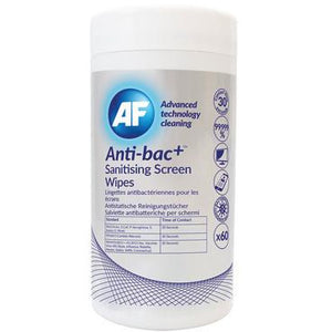 Anti-bac+ Sanitising Screen Cleaning Wipes