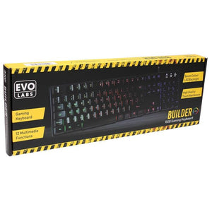 Evo Labs RGB Membrane Gaming Keyboard