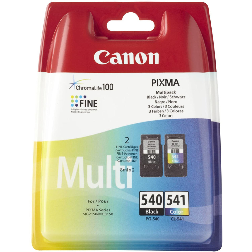 Canon 540 / 541 multipack colour & black ink