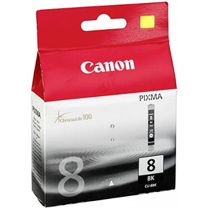 Canon 8 black ink cartridge - CLI-8BK