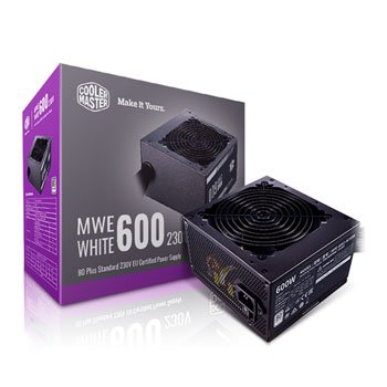 Cooler Master 600 Watt 80 PLUS White PSU