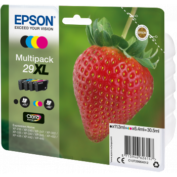 Epson 29XL ink cartridges