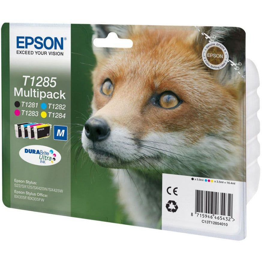 Epson Fox cartridges T1281/2/3/4/5