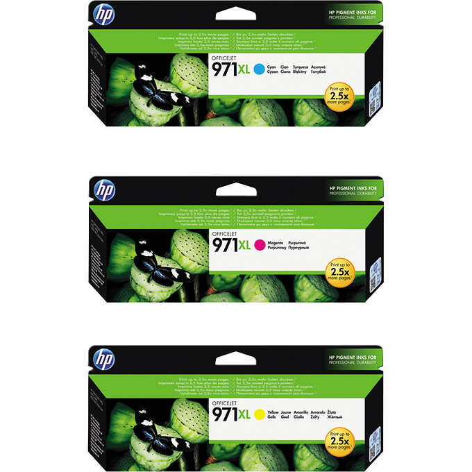 HP 971XL Colour ink cartridge