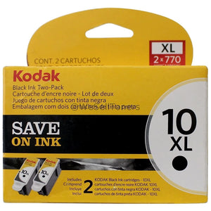 Kodak 10 XL twin pack Black Ink cartridge