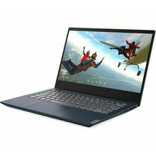 "Load image into Gallery viewer, Lenovo IdeaPad S340 14"", Intel Pentium Gold 5405U Processor, 4GB RAM, 128GB SSD, Windows 10 S Mode, 1 Year Warranty, Abyss Blue."