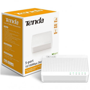 Tenda 5-port 10/100Mbps desktop switch