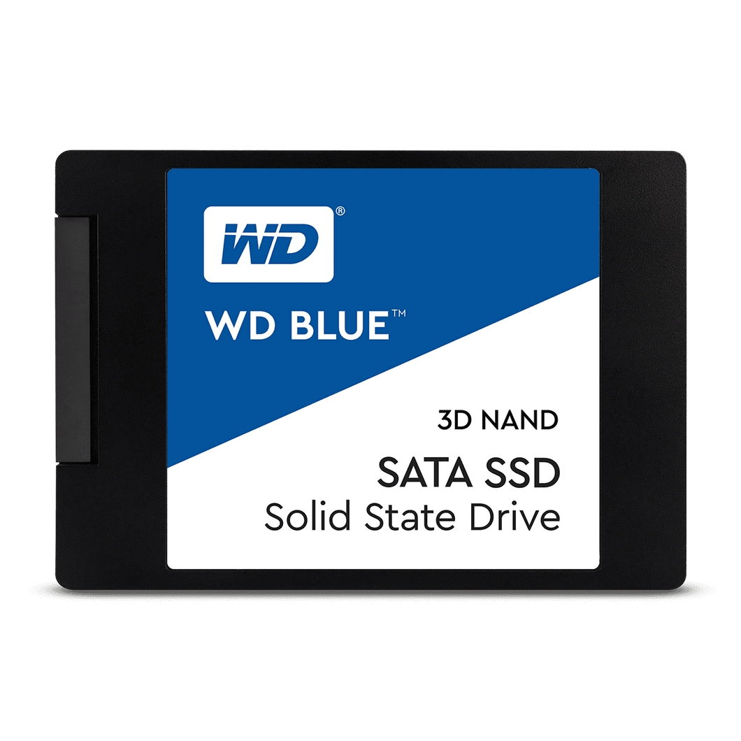WD Blue 250GB SSD solid state hard drive 2.5