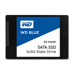 WD Blue 500GB SSD solid state hard drive 2.5""
