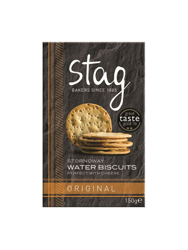 Stag Original Water Biscuits