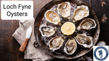 Load image into Gallery viewer, Loch Fyne Oysters (x12)