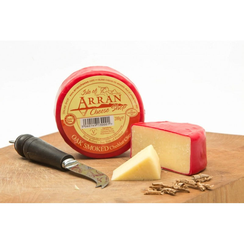 Isle of Arran Oak smoked cheese