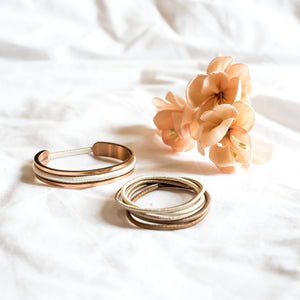 Nude Hair Ties