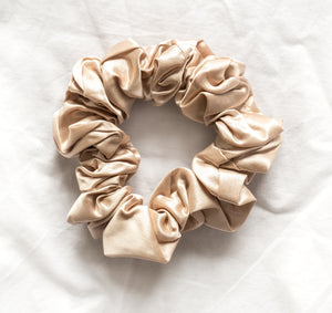 100% Pure Mulberry Silk Hair Scrunchies - Large