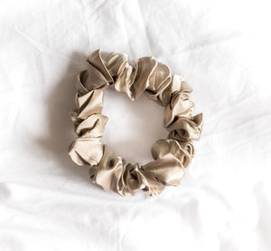 100% Pure Mulberry Silk Hair Scrunchies - Large Queen Victoria Set
