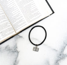 Load image into Gallery viewer, Holy Bible Hair Tie Charm