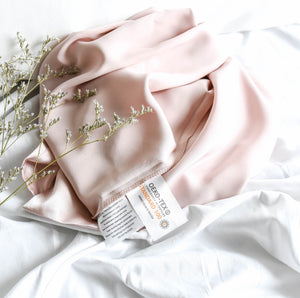 100% Pure Silk Anti-Ageing Beauty Sleep Set - Dusty Pink