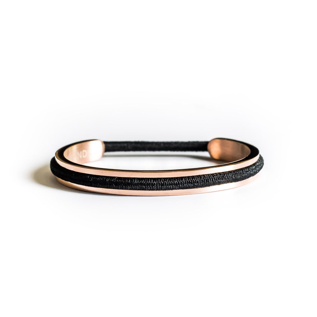 Engravable Classic Wee Bands 18k Rose Gold