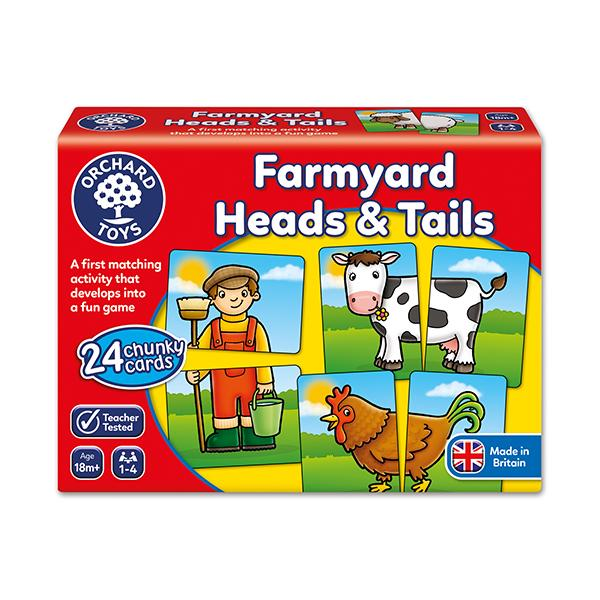 Aprende de la Granja con Farmyard Heads And Tails