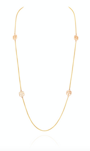 Texas A&M Station Chain by David Gardner, 18k yellow gold
