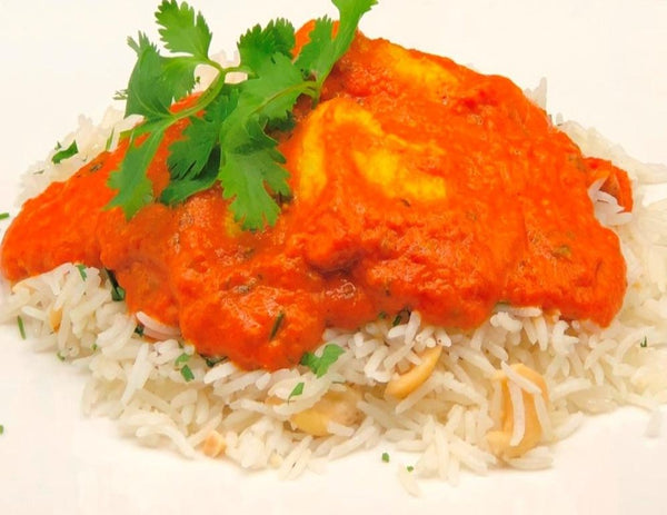 Butter Chicken & Coconut Cashew Lime Basmati