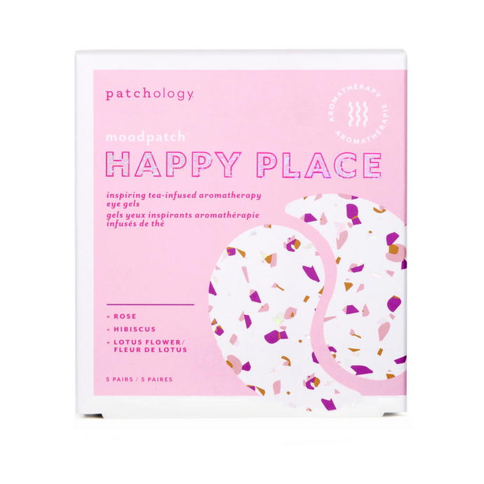 Patchology Happy Place Eye Gel Patches For Soothing Under Eyes And Puffiness