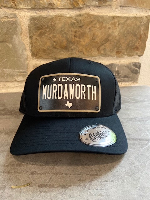 MURDAWORTH custom Caps