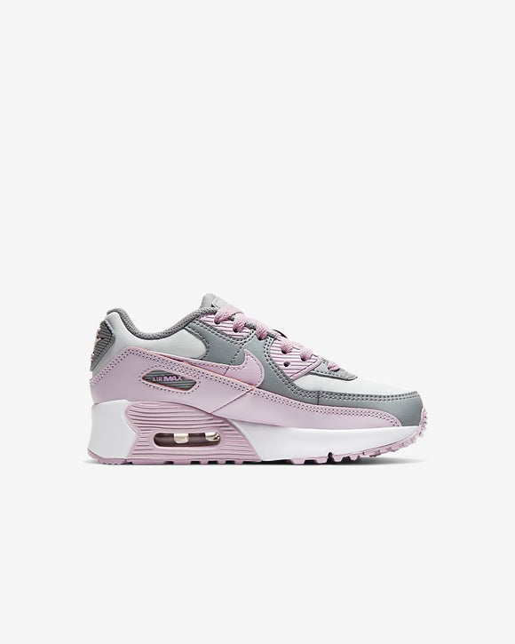 Nike Air Max 90 LTR  White/ Illac/Grey(PS)