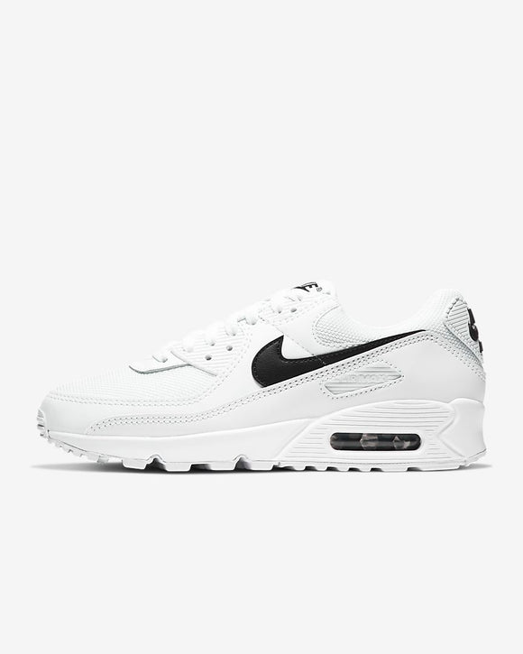 W Nike Air Max 90 White/White/Black