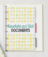 Family Emergency Planning Binder