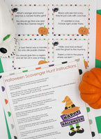 Halloween Scavenger Hunt - Indoor Edition