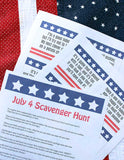 July 4 Scavenger Hunt