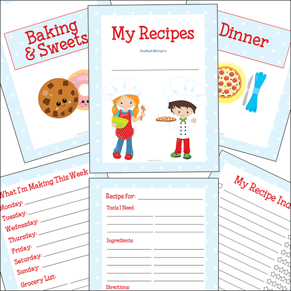 Kids Recipe Binder