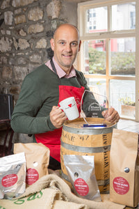 Cathal Keogh, proprietor of Mocha Beans