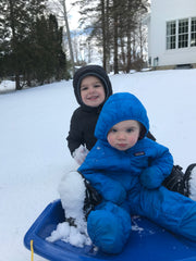 Doud Boys Sledding