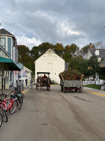 Fall on Mackinac Island
