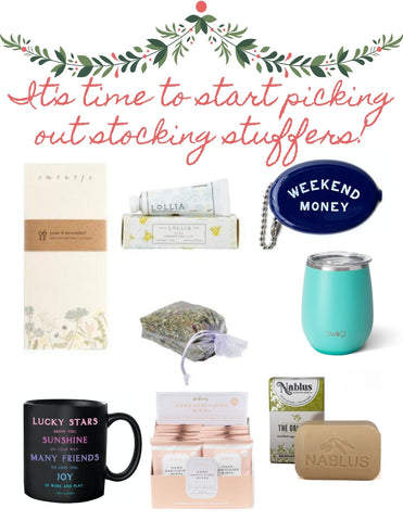 Stocking Stuffer Ideas Little Luxuries