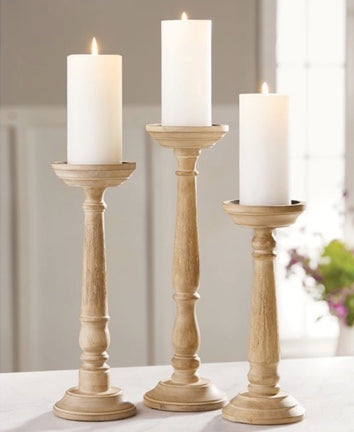 Thin Distressed Candlestick