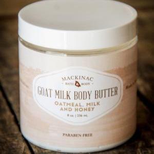 Mackinac Bath & Body | Goat Milk Body Butter