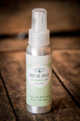 Mackinac Bath & Body | Body Oil Spray