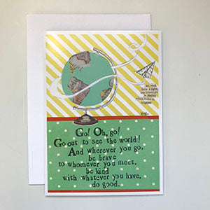Curly Girl | Rectangular Card