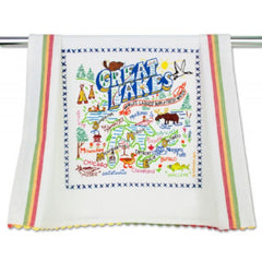 CatStudio | Great Lakes Dish Towel
