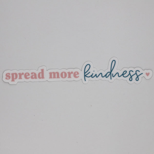 Spread More Kindness Sticker | The Happy Collection