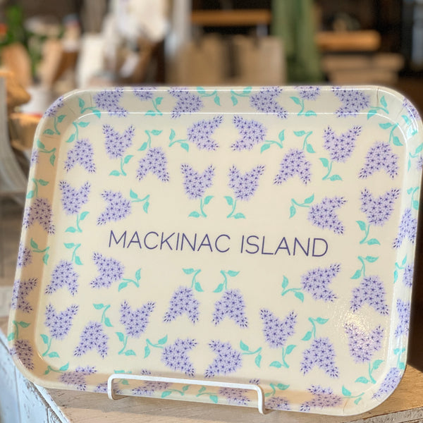 Mackinac Island Lilac Tray