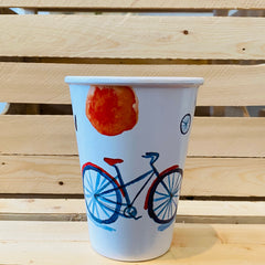 Bicycle Melamine Cup